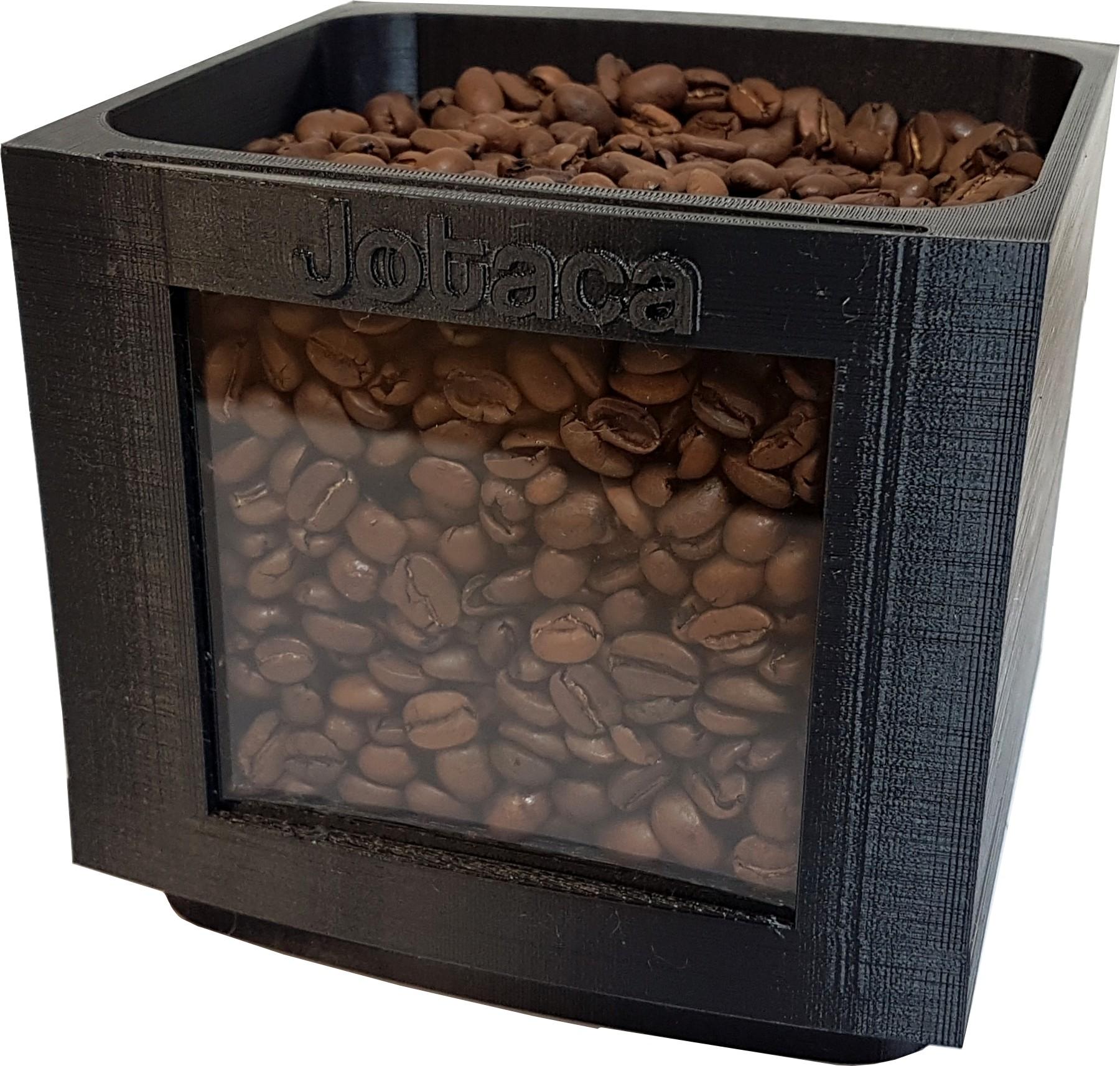 Bohnen Behälter Erweiterung passend Jura E6 E60 E8 E80 Kaffeevollautomaten für 500 Gramm mehr
