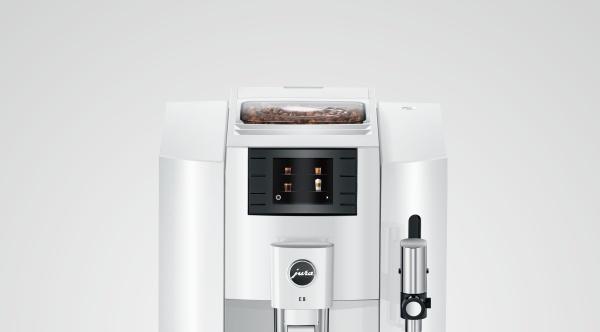 Jura E8 Piano White (EB) Modell 2020