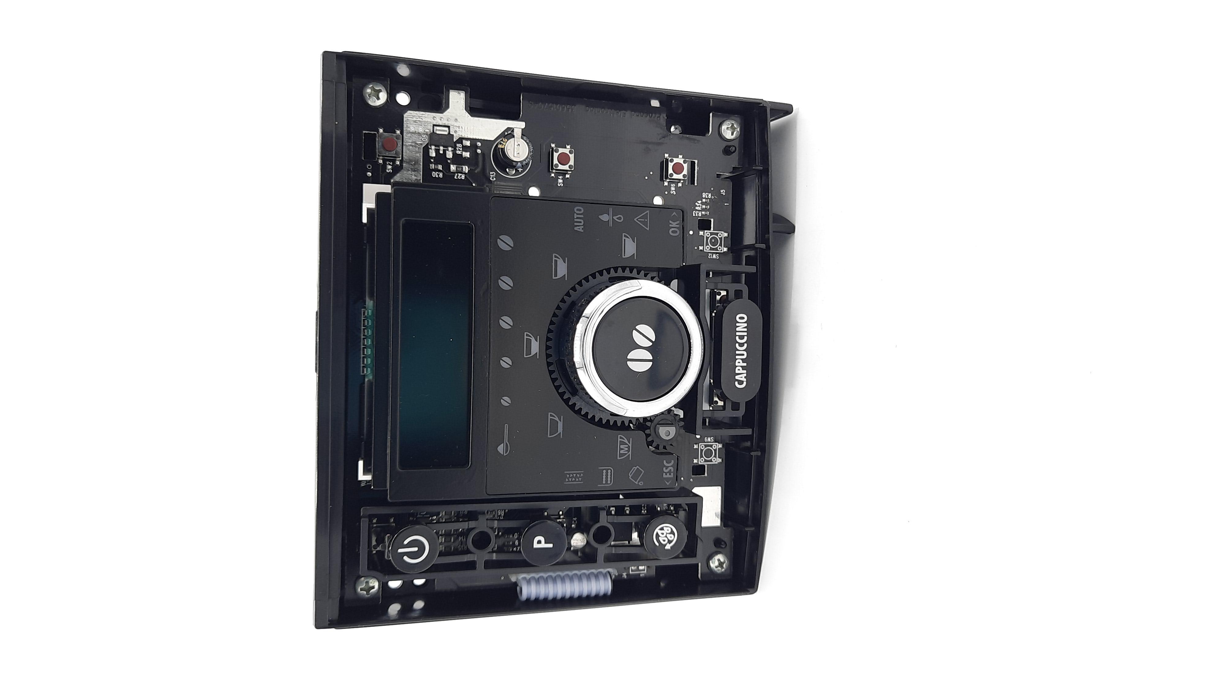 DeLonghi Bedienplatine SW 2.3 Perfecta ESAM 5500 PCB&DISPL&SUP&GUID LUC(SW2.3)