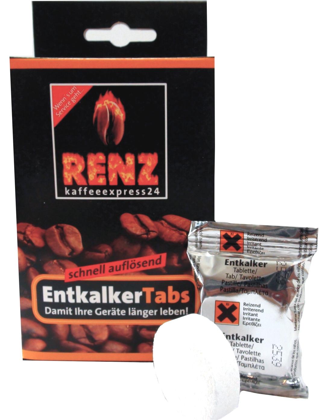Renz Entkalker Tabs - Tabletten 10 Stück a 15 gr.