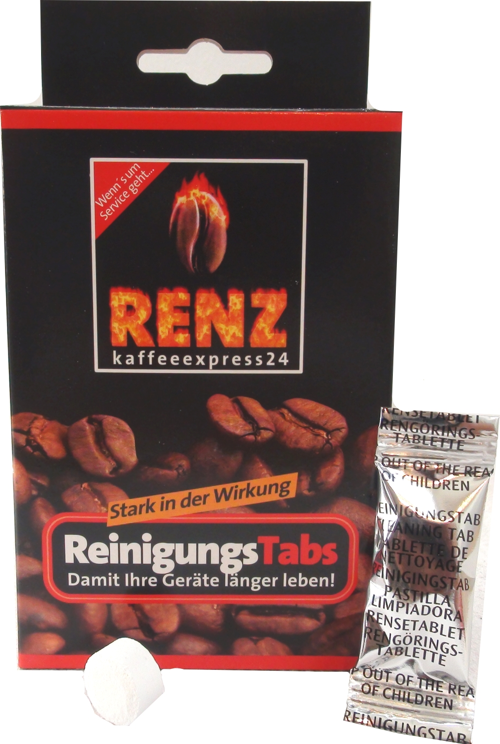 Renz Reiniger Tabs - Tabletten 10 Stück a 2,3 gr.