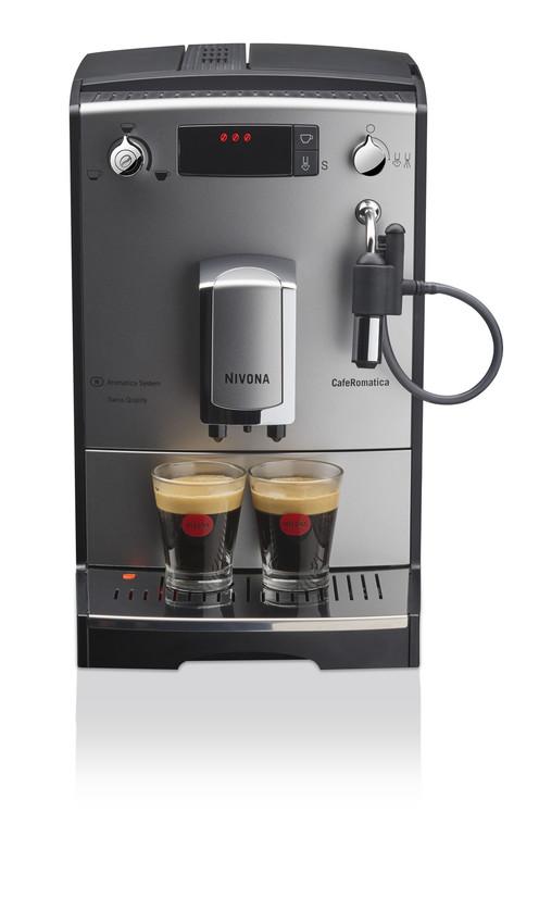 Nivona CafeRomatica 530 Silber / Chrom NICR530
